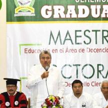 GRADUACIÓN MAESTRÍA Y DOCTORADO EN UNIVERSIDAD CESEEO