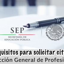 REQUISITOS – CITA ANTE DGP