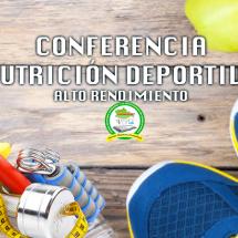CONFERENCIA NUTRICION DEPORTIVA