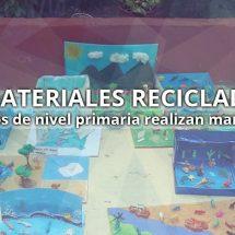 USO DE MATERIALES RECICLADOS